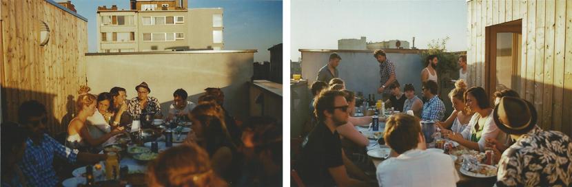 rooftop barbecue in antwerp, via au pays des merveilles