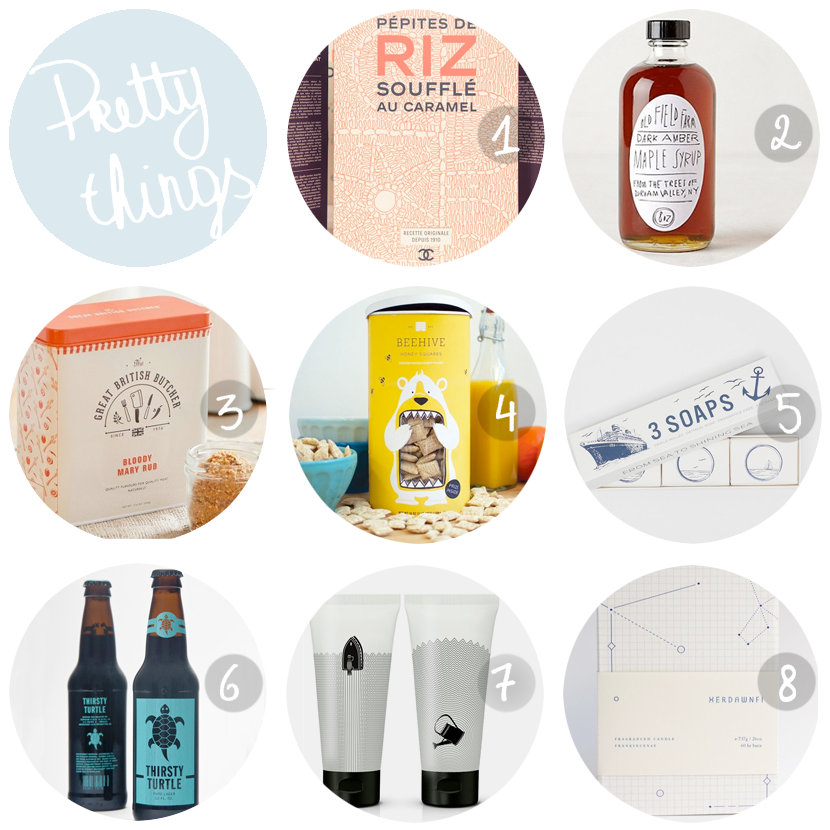 PRETTY THINGS packaging via au pays des merveilles