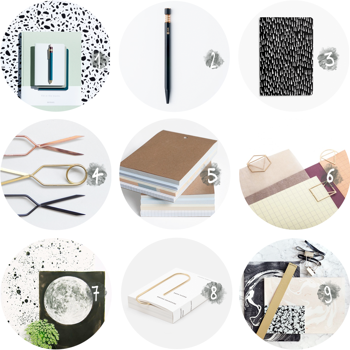 collection STATIONERY via au pays des merveilles