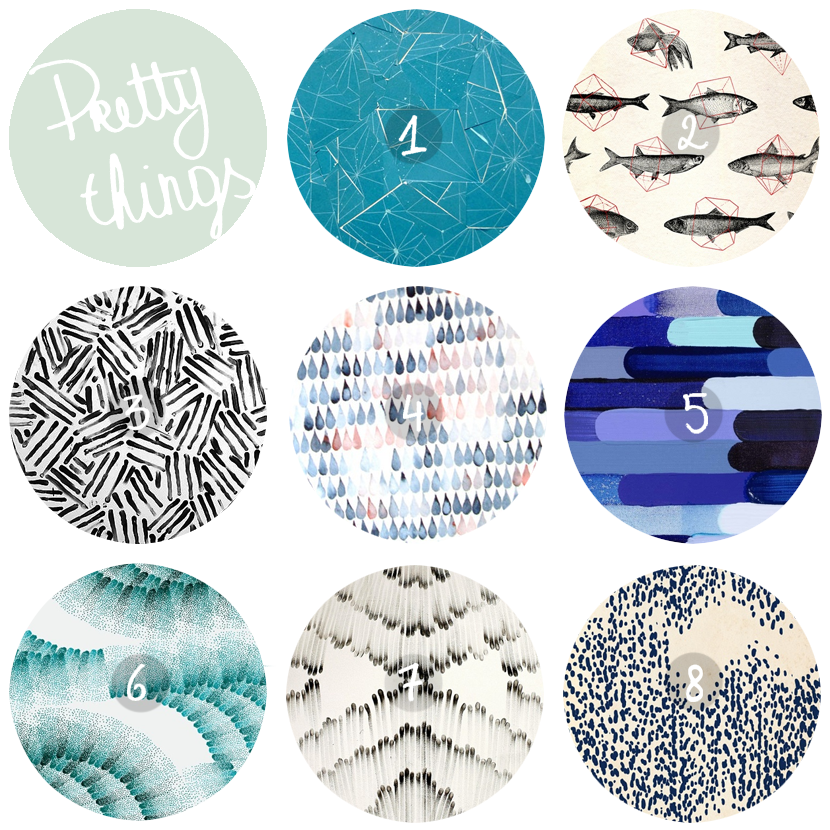 pretty patterns via au pays des merveilles
