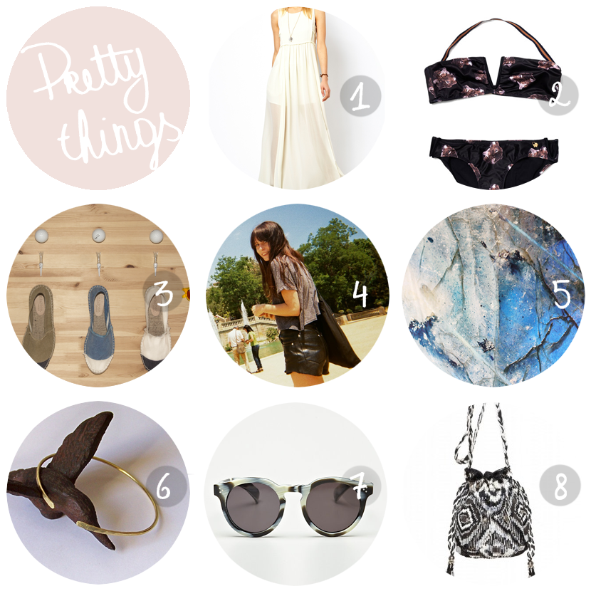 pretty things summer wardrobe by au pays des merveilles