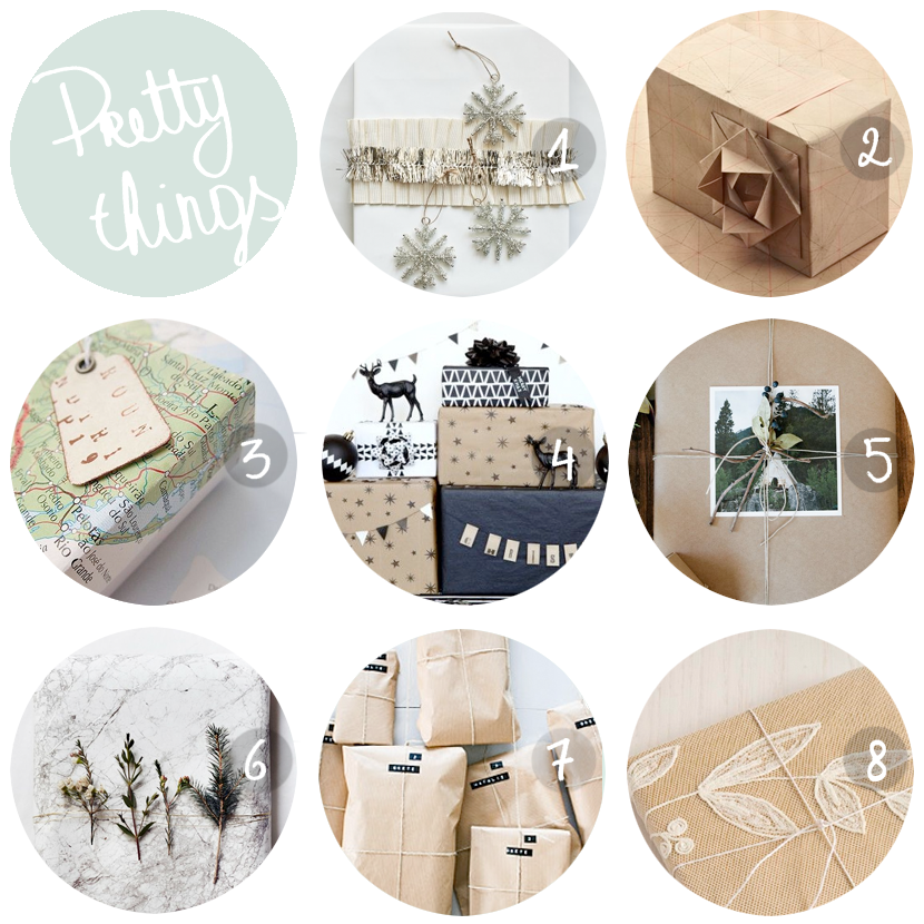 PRETTY THINGS gift wrapping