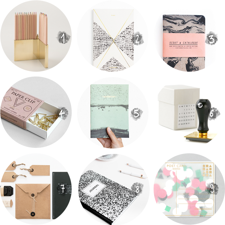 collection // stationery - via au pays des merveilles