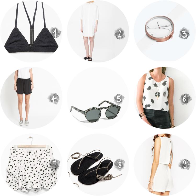 COLLECTION_ summer wardrobe picks - via au pays des merveilles