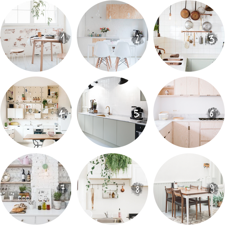 COLLECTION kitchens and dining rooms via au pays des merveilles