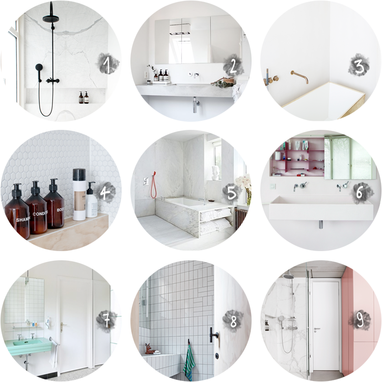 COLLECTION bathrooms via au pays des merveilles