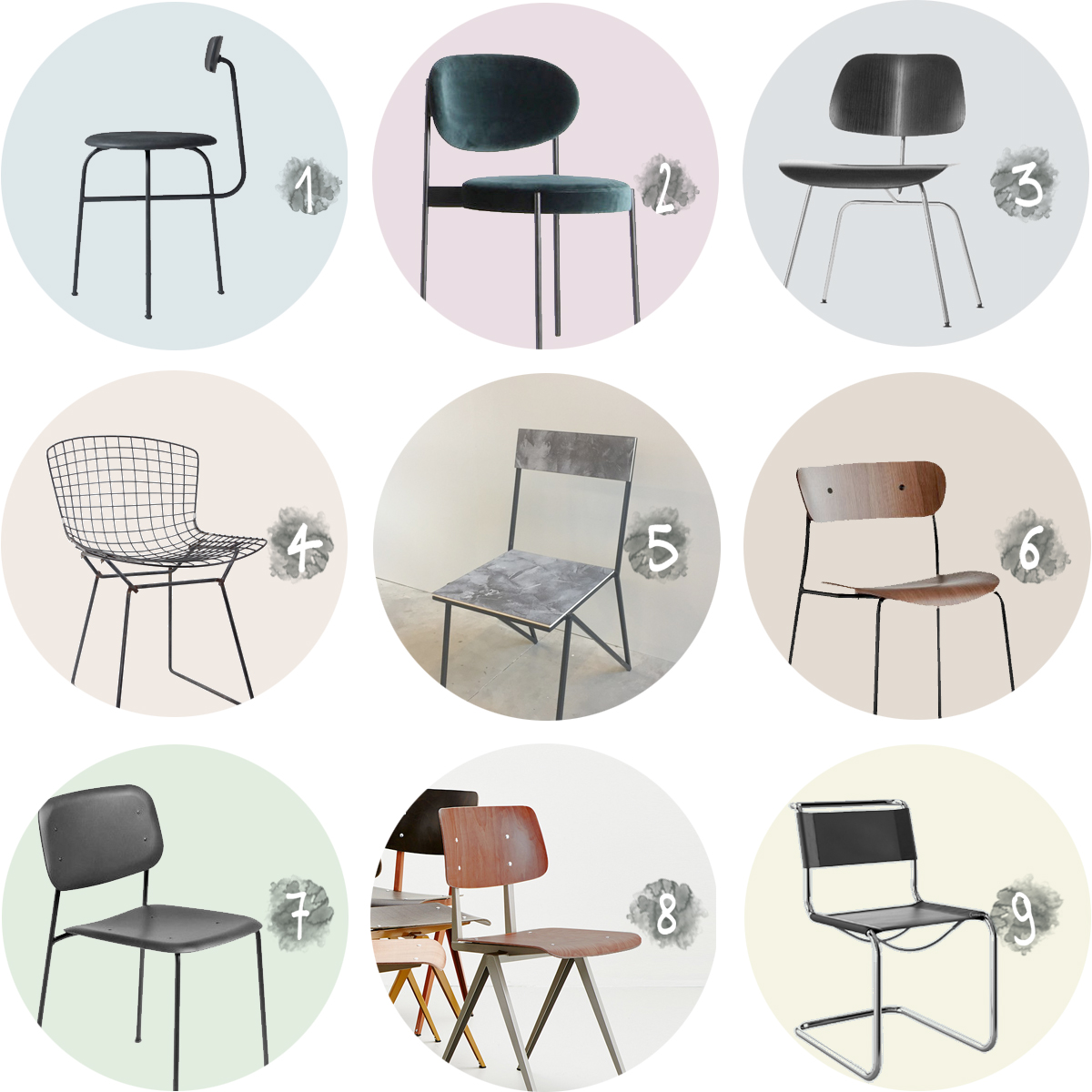 COLLECTION_ dining room chairs