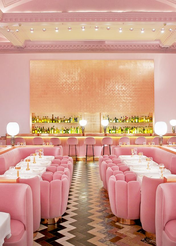 COLLECTION_ pink cafés around the world - via aupaysdesmerveillesblog - sketch london