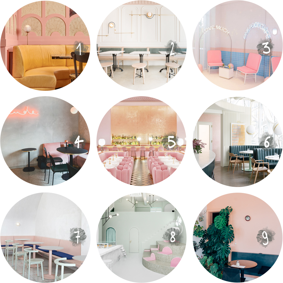 COLLECTION_ pink bars - via aupaysdesmerveillesblog