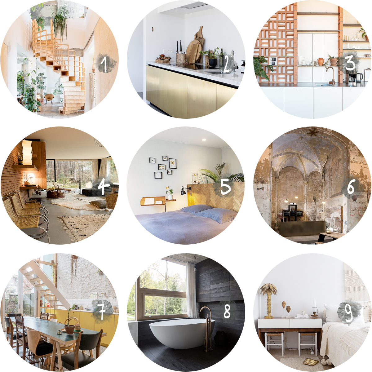 COLLECTION_ interior inspiration by Studio Scott via aupaysdesmerveillesblog.be